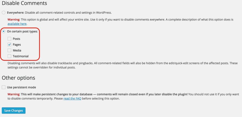 disable comments 3